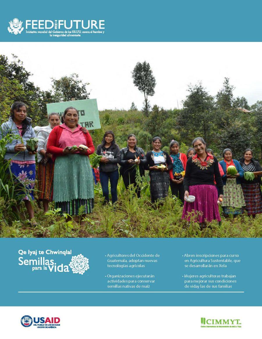Boletín Mensual No. 12 Proyecto Buena Milpa Guatemala